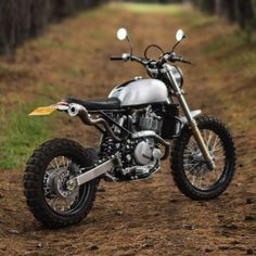 Cool custom Honda Scrambler built by Cafe Racer Dreams. Check out the pictures, specs and story behind this custom motorcycle! Honda Scrambler, Honda Dominator, Enduro, Scrambler Motorcycle, Vintage Motorcycles, Custom Motorcycles, Custom Bikes, R Cafe, Cafe Bike