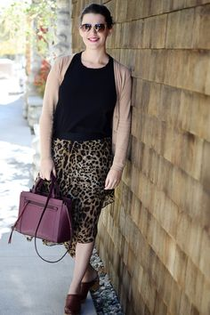 Leopard Skirt at Surf Chateau