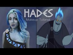 Want to watch me have a major fowl up during my Hades makeup tutorial? Let's just say Hades isn't very patient as he reacts to all my newb tips. 😅💀 But serio. Hades Disney, Disney Hercules, Halloween Cosplay, Halloween Makeup, Halloween Costumes, Disney Villain Costumes, Disney Villains, Hades Costume, Maleficent Party