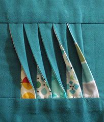 "Would make such cute detail for pocket Awesome ""Twisted Tutorial"" from the Shocking Hocking blog."