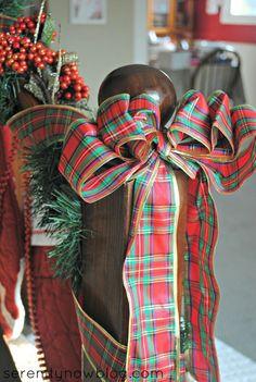 2013 Christmas stairs Garland Craft,  Beautiful Christmas Decorations