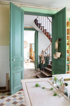 Verde Vintage, Decoration Hall, Georgian Townhouse, Architect Design, Humble Abode, My Dream Home, Interior Inspiration, Living Spaces, Sweet Home