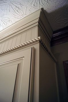 Wow. covering the soffit to make it look like extended cabinets to ...