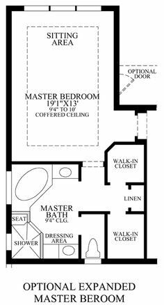 Best 12 Bathroom Layout Design Ideas ideas about Bathroom design layout Master Bedroom Addition, Master Bedroom Plans, Master Bedroom Bathroom, Bath Room, Master Suite Floor Plan, Bathroom Closet, Bedroom Addition Plans, Girls Bedroom, Master Bed Room Ideas