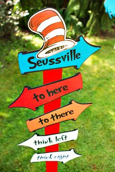 Playful Cat in the Hat First Birthday {Dr. Seuss Theme}
