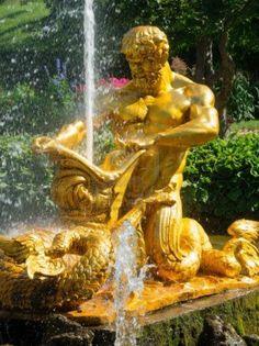 Triton Fountain - Peterhof