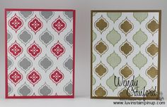 Luvin Stampin Up: Stampin UP! Mosaic Madness