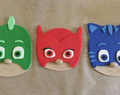Máscaras PJ inspiraron de la torta Owlette por PeaceLoveandCakeNY