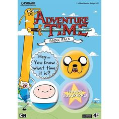 Adventure Time Pin 4 Pack
