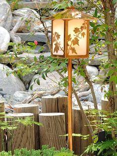Garden Lantern, English Ivy