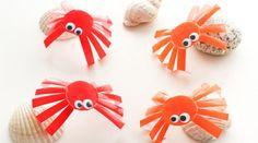 DIY child - fun little crabs