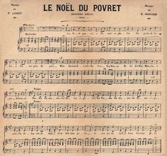 French Christmas sheet music from The Graphics Fairy. (LOVE the Graphics Fairy! French Christmas, Noel Christmas, Christmas Images, All Things Christmas, Vintage Christmas, Christmas Crafts, Christmas Sayings, Christmas Graphics, Christmas Paper