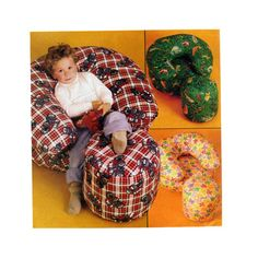 Childrens Furniture McCalls 605 Soft Stuffed by FindCraftyPatterns