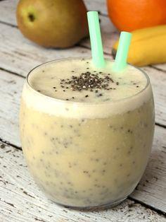 Chia-Banane-Smoothie - Power-Drink zubereiten