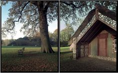 "Te Arawa Meeting House ""Hinemihi"" at Clandon Park Surrey England. Photograph Mark Adams"