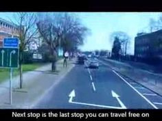 Video that helps understand when to get off the free bus.  A Journey On The Free Heathrow 105 Bus To Many Heathrow Airport Hotels - YouTube