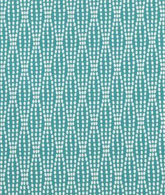 Shop Waverly Strands Teal Fabric at onlinefabricstore.net for $23.95/ Yard. Best Price & Service.