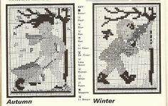 cross stitch pattern by Littlelixie, via Flickr
