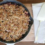 Pamela Salzman's Apple-Blackberry Breakfast Crisp | Molly Sims