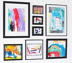 Eight Ideas for Storing and Displaying Children's Artwork