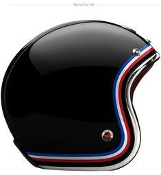 Retro Ruby Pavillion Helmets