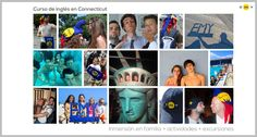 EMY Cursos en el extranjero #CursosIngles #USA #EstadosUnidos #Connecticut Programas de inmersión en familia en USA con Excursiones y Actividades