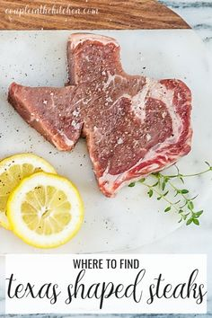 You Can Get Steaks Cut in the Shape of Texas And We're Here for it — Couple in the Kitchen 50th Birthday Gag Gifts, Birthday Cakes For Men, 40th Birthday, Birthday Sayings, Birthday Images, Birthday Greetings, Birthday Wishes, Happy Birthday, Rib Eye Recipes