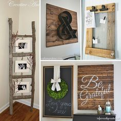 Rustic DIY home decor has been around a lot longer thanChip and Joanna. I know it's hard to believe, but we were distressing furniture pieces and eating off farm tables back in the 80's at my house. Sure there are some things I'd love to forget, like thesmokeyblue and dusty mauve and let's not forget …