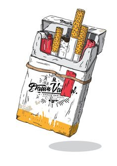 Cigarette drawing