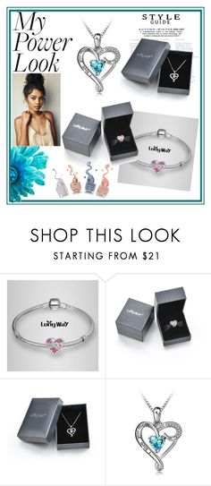 """""""Long Way Sterling Silver"""" by zina-lami ❤ liked on Polyvore"""