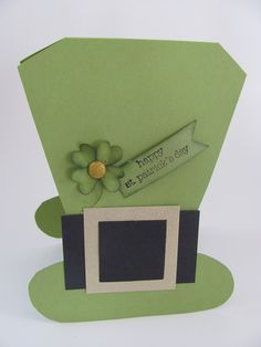 St. Patrick's Day Leprechaun Hat Stamp:Teeny Tiny Wishes  By:jhurley90