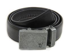 Mission Belt Men's Iron and Black Leather Ratchet Belt - Large - Iron: Amazon.co.uk: Clothing