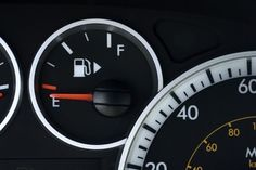 The little arrow on your gas gauge is there to tell you what side your gas tank is on. |  Absurdly Simple Life Hacks That You Can Use Right Now