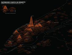 Atlas of Design - Facebook check in density