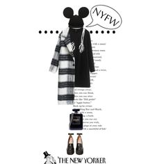 B&W by shica-du on Polyvore featuring Jeffrey Campbell, Chanel, women's clothing, women's fashion, women, female, woman, misses, juniors and beautifulhalo