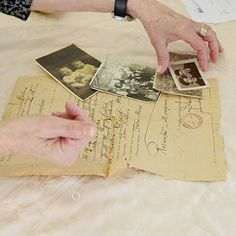 """Chana Kenat (née Horovitz) immigrated to Eretz Israel from Poland with her parents Malka and David in 1930s. As part of the """"Gathering the Fragments"""" campaign, she gave to Yad Vashem the photos and letters that were sent from Poland by her family members before the Holocaust. Their fate is unknown"""