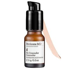 Perricone MD No Concealer Concealer: $45 | Sephora | Conceals + treats dark circles and puffiness- it really works!