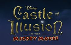 Sometimes it's nice to just sit down, relax, and have some good old-fashioned video game fun. In Disney's Castle of Illusion Starring Mickey Mouse, it's Sega Genesis Classic, Video Game Logos, Video Games, Mickey Mouse, Anaheim Convention Center, Word Poster, Disneyland Resort, Animation Film, Game Design
