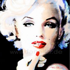 Marilyn in Art by www.fb.com/TheoDanella  © TOTE BAGS * PILLOWS * CASES  www.redbubble.com/people/TheoDanella  Posters/Prints:  www.PVZ.net   ... and many more.... www.danella.de ____________