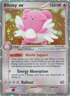 Blissey ex (Unseen Forces UF 101)