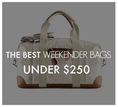 Summer Weekend Bags for Under $250!