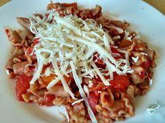 Celozrnné cestoviny s cuketou a paradajkami Spaghetti, Healthy Recipes, Ethnic Recipes, Food, Healthy Food Recipes, Eten, Healthy Eating Recipes, Healthy Diet Recipes, Meals