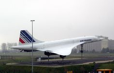 "Le ""Concorde"" F-BVFF at CDG"