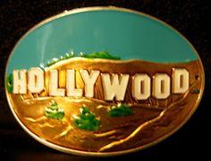 Hollywood California new badge mount stocknagel hiking medallion G0515 • CAD 11.97