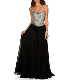 Celine- Black Prom Dress at WindsorStore