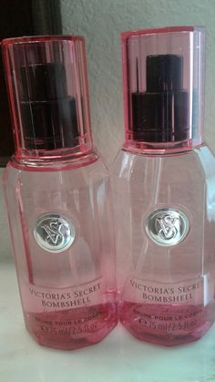 VICTORIAS SECRET BOMBSHELL BODY MIST LOT OF TWO 2.5 FL. OZ. EACH #VictoriasSecret