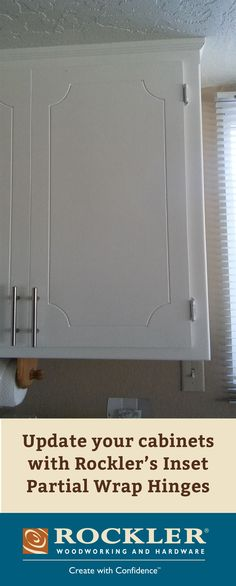 Cooperative home improvement diy about his Kitchen Cabinets Door Hinges, Diy Kitchen Cabinets, Grey Cabinets, Cabinet Fronts, Cabinet Doors, Rockler Woodworking, Woodworking Projects, Home Improvement Projects, Home Projects