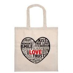 Valentine's Day Cotton Bag