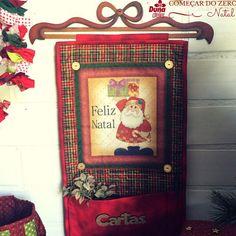 Já pensou em um lugar especial para as cartinhas do Papai Noel? Vejam que lindo…