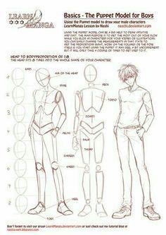 Anime boy, text, guy, male, height; How to Draw Manga/Anime